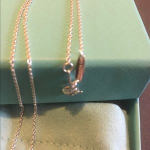 Tiffany & Co. Jewelry - Tiffany & CO original Elsa P Full Heart pendant
